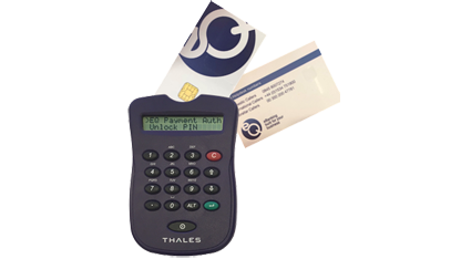 Image of Thales card reader