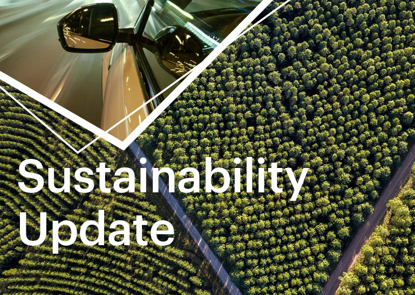 Monthly sustainability update